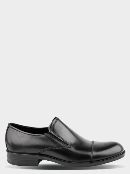 чоловічі туфлі ecco harold 634534(01001) шкіряні 269f3e5e6bc33