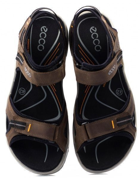 Сандалии мужские ECCO OFFROAD ZM3378 размерная сетка обуви, 2017