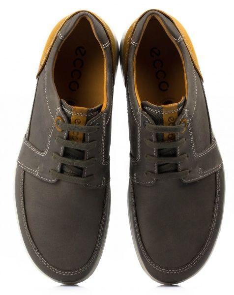 Полуботинки мужские ECCO IOWA ZM3410 размерная сетка обуви, 2017