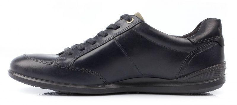 Полуботинки мужские ECCO CHANDER ZM3423 размерная сетка обуви, 2017