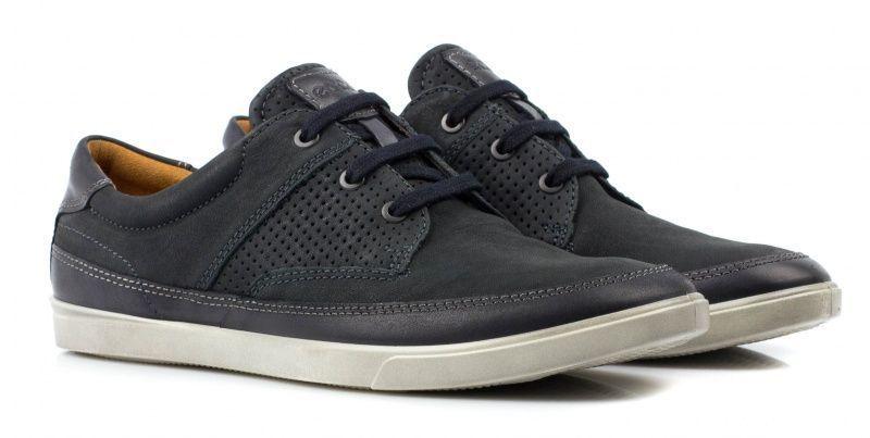 Полуботинки для мужчин ECCO COLLIN ZM3426 размерная сетка обуви, 2017