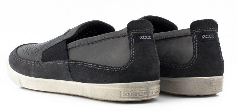 Cлипоны для мужчин ECCO COLLIN ZM3428 размерная сетка обуви, 2017