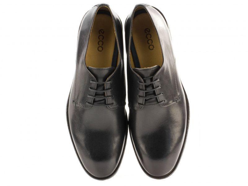 чоловічі туфлі ecco leeds 670314(01001) шкіряні фото 3 2a74cefb7b366