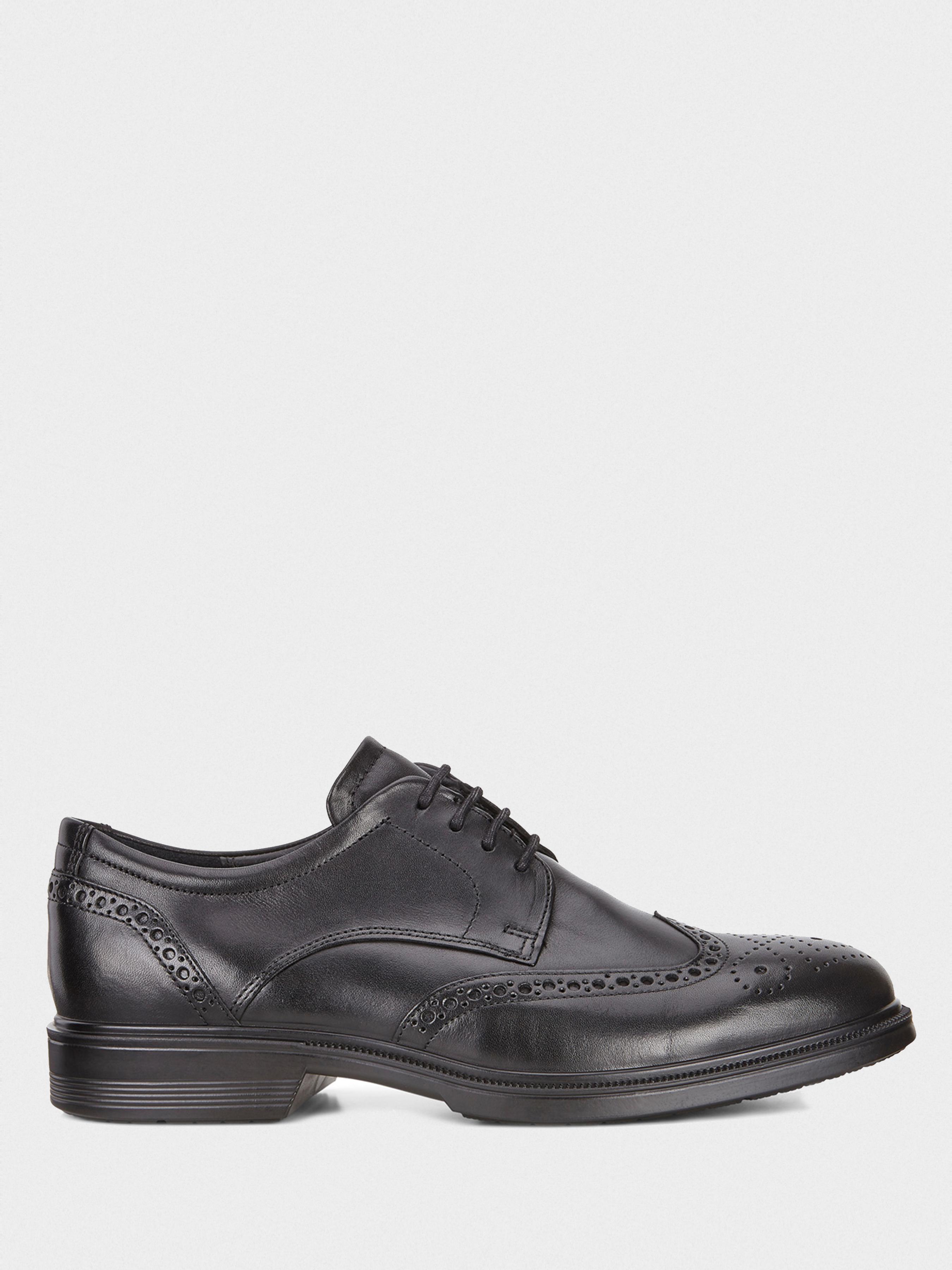 Купить Туфли мужские ECCO LISBON ZM3732, Черный