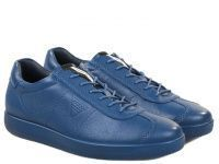 мужская обувь ECCO синего цвета приобрести, 2017