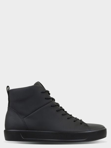 Купить Ботинки мужские ECCO SOFT 8 MEN'S ZM3784, Черный