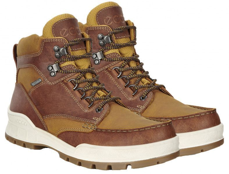 Ботинки для мужчин ECCO TRACK 25 ZM3809 брендовая обувь, 2017