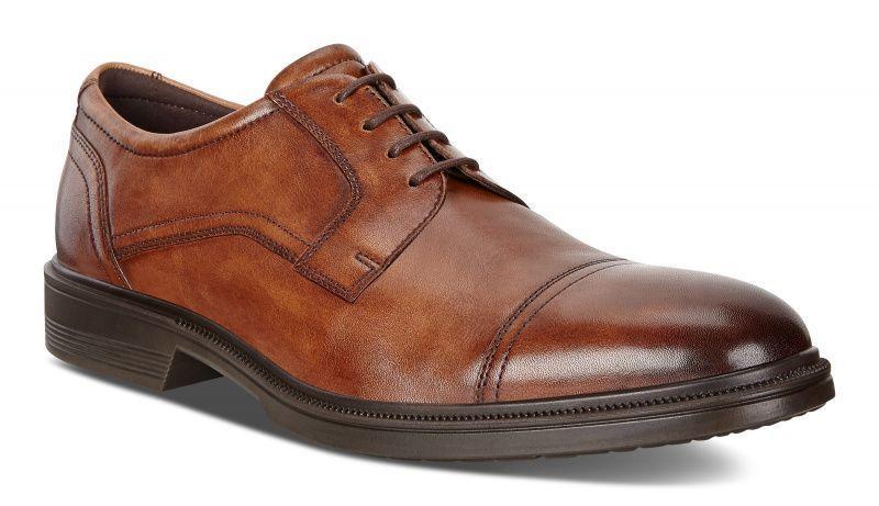 Купить Туфли мужские ECCO LISBON ZM3859, Коричневый