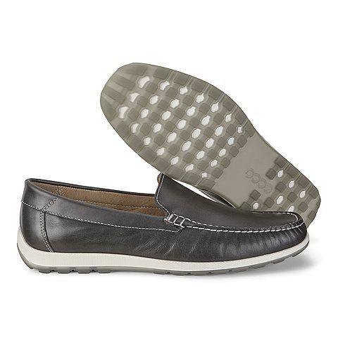 Мокасины мужские ECCO DIP MOC ZM3928 размерная сетка обуви, 2017