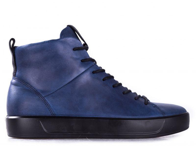 Купить Ботинки мужские ECCO SOFT 8 MEN'S ZM4001, Синий