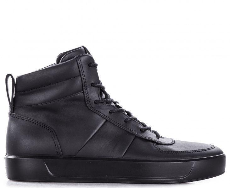 Ботинки мужские ECCO SOFT 8 MEN'S ZM4004, Черный  - купить со скидкой