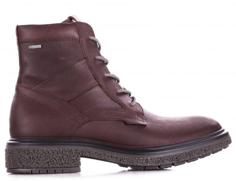 чоловічі черевики ecco crepe tray hybrid m 200954(01280) шкіряні
