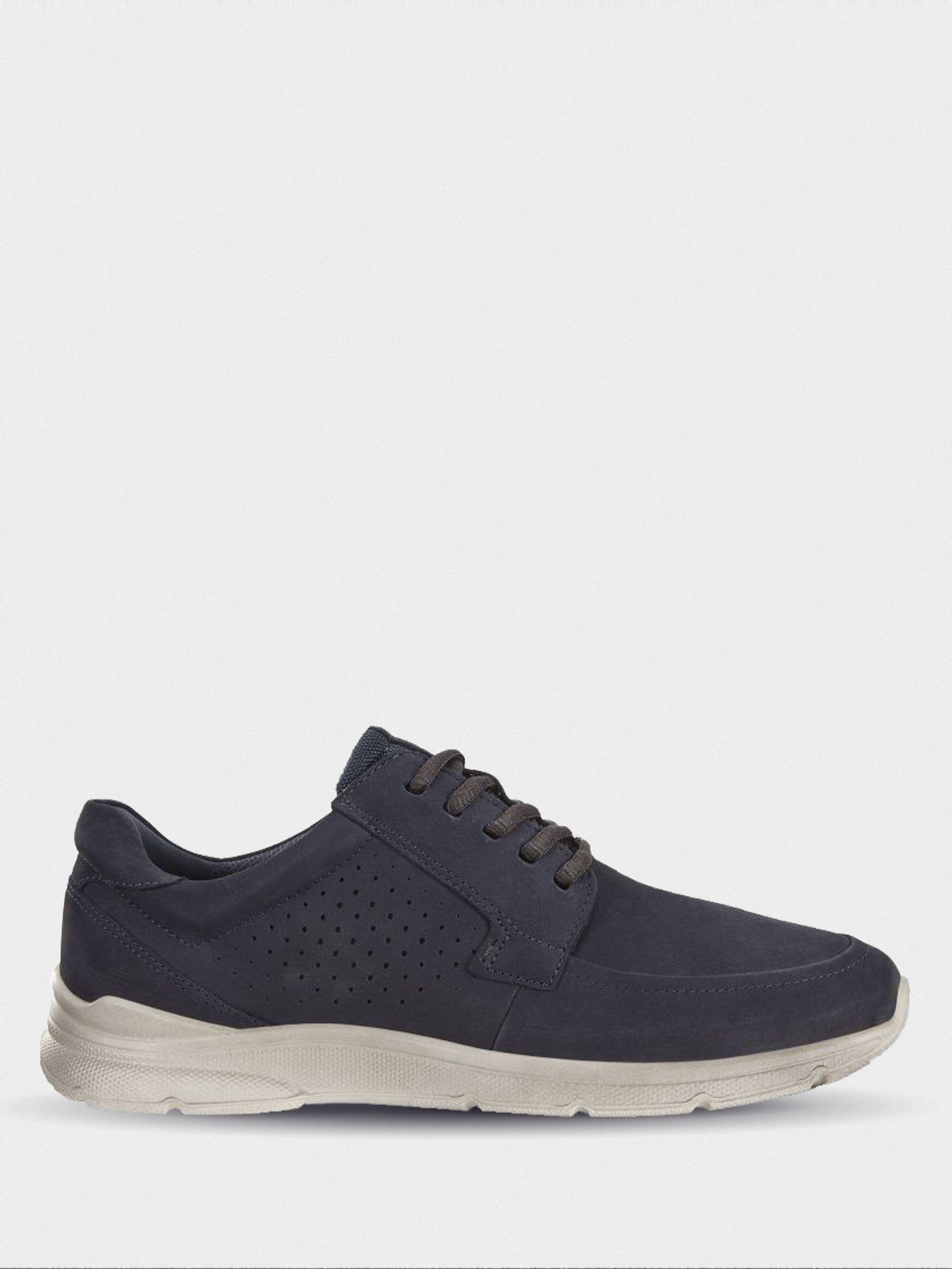 Полуботинки для мужчин ECCO IRVING ZM4132 брендовая обувь, 2017