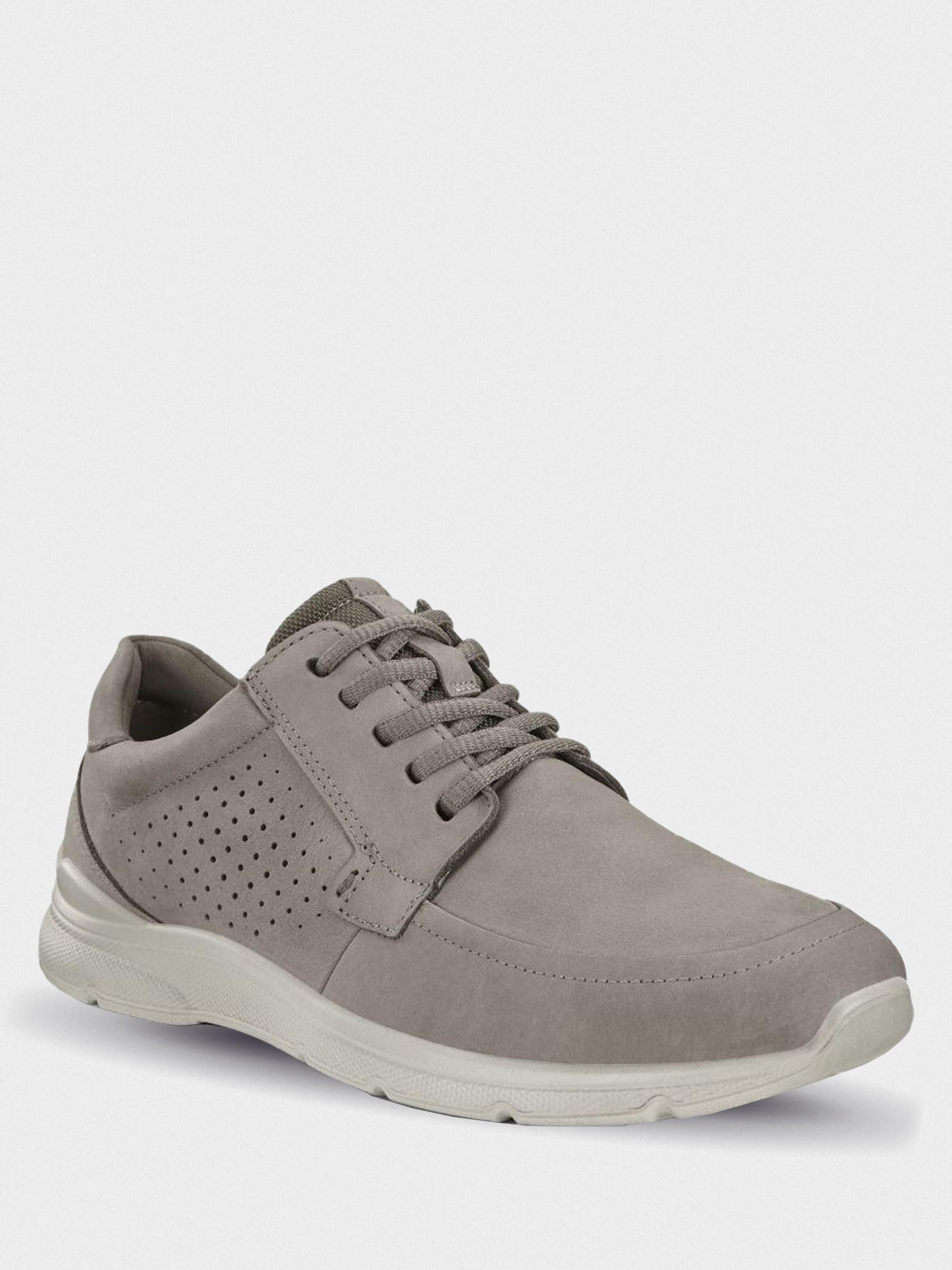 Полуботинки для мужчин ECCO IRVING ZM4133 брендовая обувь, 2017