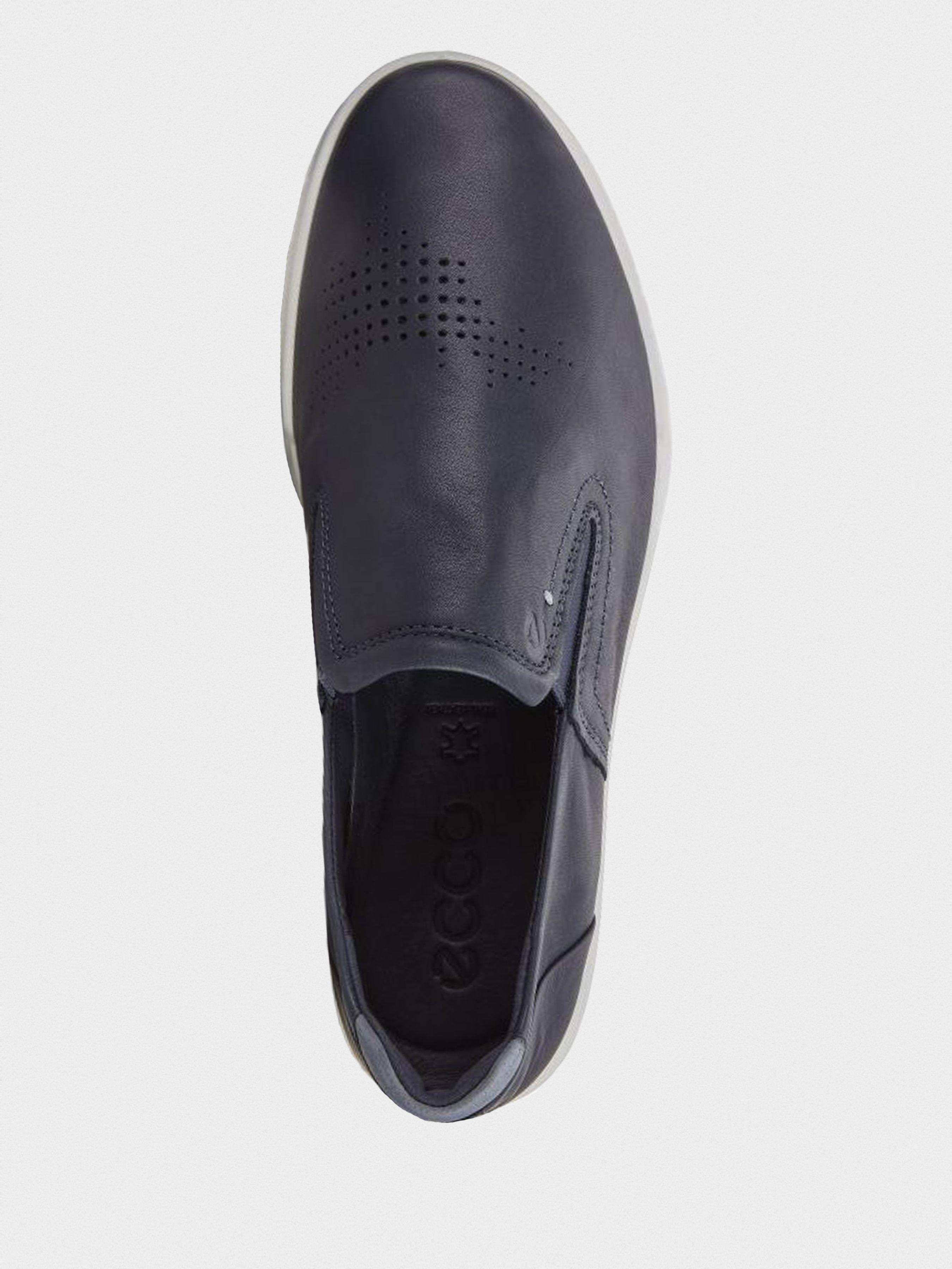 Cлипоны мужские ECCO COLLIN 2.0 ZM4182 брендовая обувь, 2017