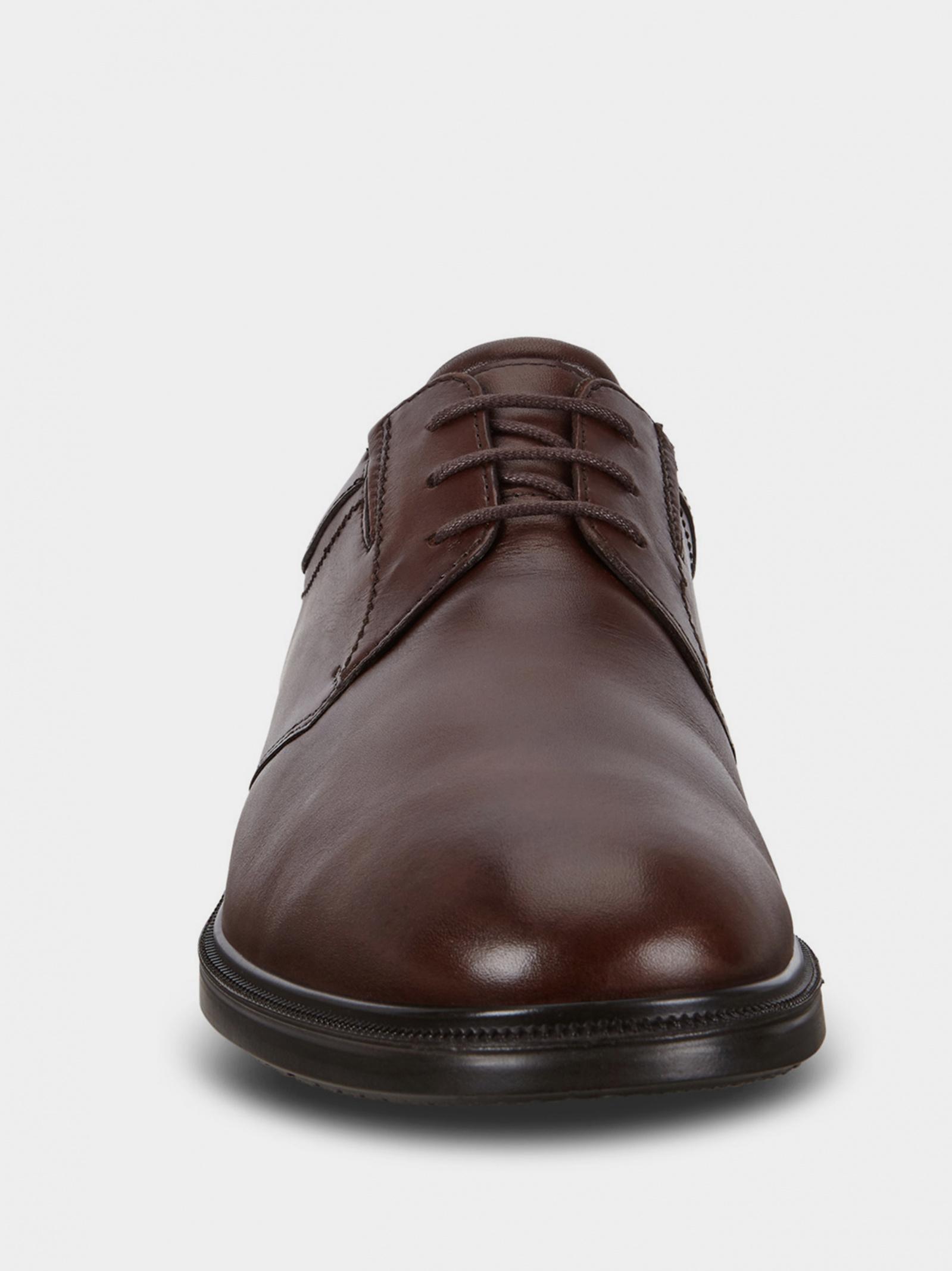 Туфлі  для чоловіків ECCO 62219401014 брендове взуття, 2017
