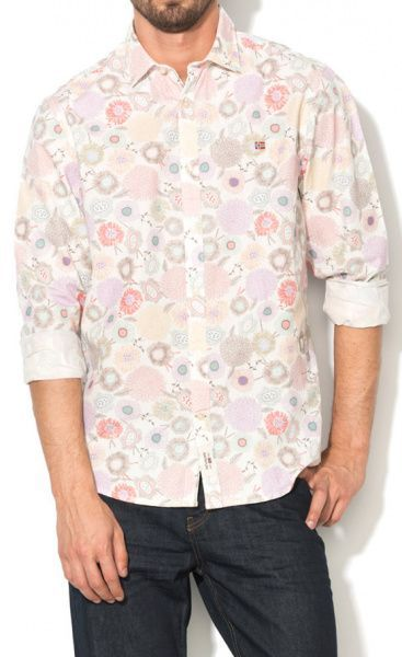 Рубашка с длинным рукавом мужские Napapijri модель ZS1015 , 2017