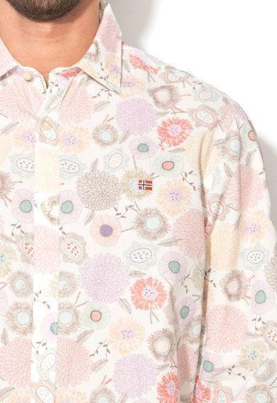 Рубашка с длинным рукавом мужские Napapijri модель ZS1015 цена, 2017