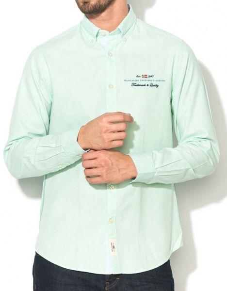 Рубашка с длинным рукавом мужские Napapijri модель ZS1018 , 2017