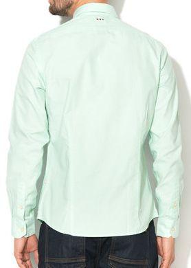 Рубашка с длинным рукавом мужские Napapijri модель ZS1018 цена, 2017