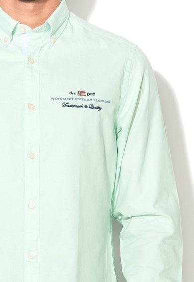 Рубашка с длинным рукавом мужские Napapijri модель ZS1018 купить, 2017