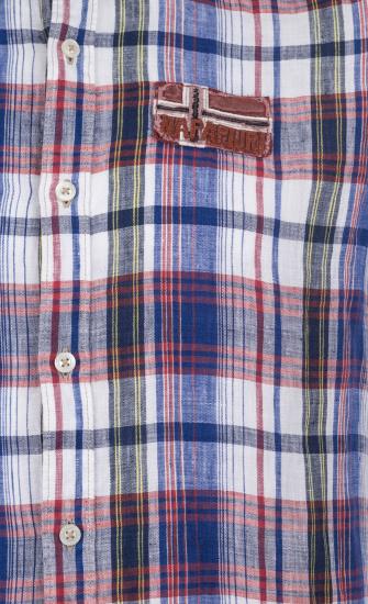 Сорочка з коротким рукавом Napapijri модель N0YCTJC40 — фото 4 - INTERTOP