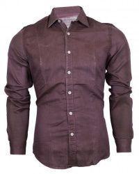 Рубашка с длинным рукавом мужские Napapijri модель ZS1134 , 2017