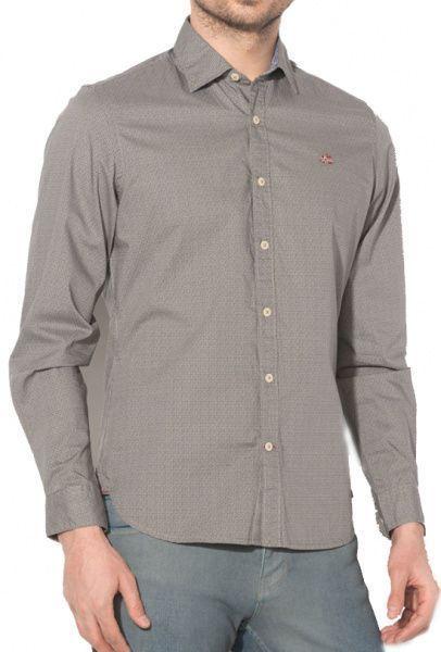 Рубашка с длинным рукавом мужские Napapijri модель ZS1138 , 2017