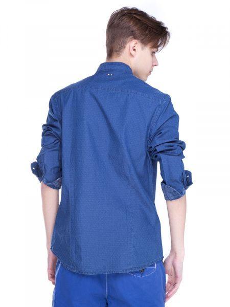 Рубашка с длинным рукавом для мужчин Napapijri ZS1305 примерка, 2017