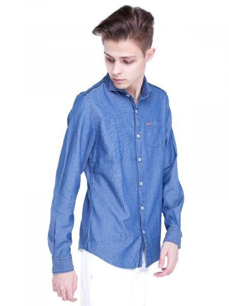 Рубашка с длинным рукавом для мужчин Napapijri ZS1400 купить, 2017