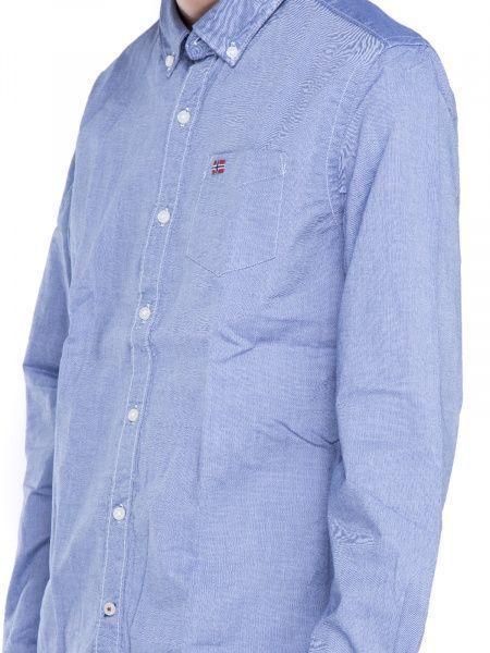 Рубашка с длинным рукавом для мужчин Napapijri ZS1404 примерка, 2017