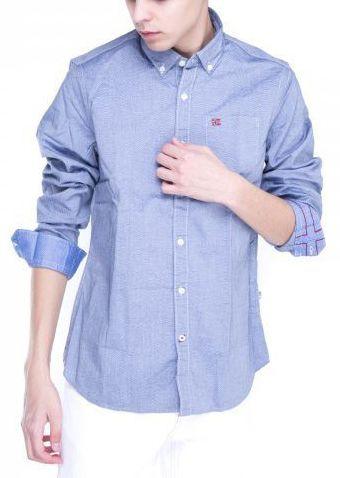 Рубашка с длинным рукавом для мужчин Napapijri ZS1404 купить в Интертоп, 2017