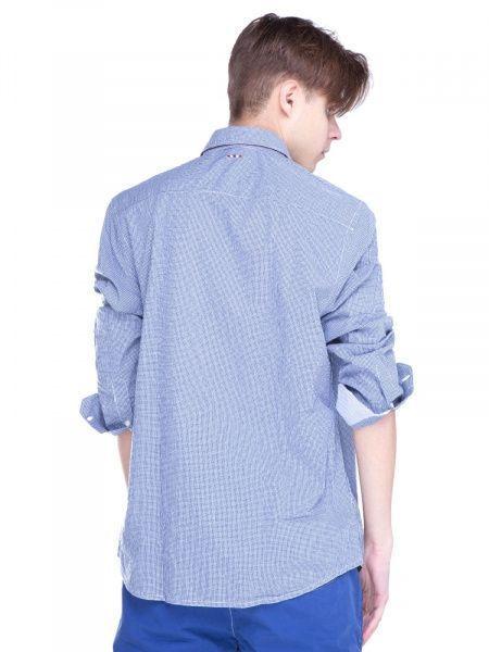 Рубашка с длинным рукавом для мужчин Napapijri ZS1407 примерка, 2017
