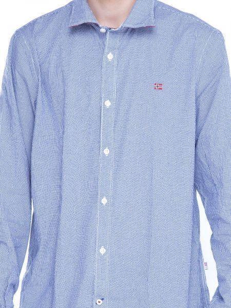 Рубашка с длинным рукавом для мужчин Napapijri ZS1407 бесплатная доставка, 2017
