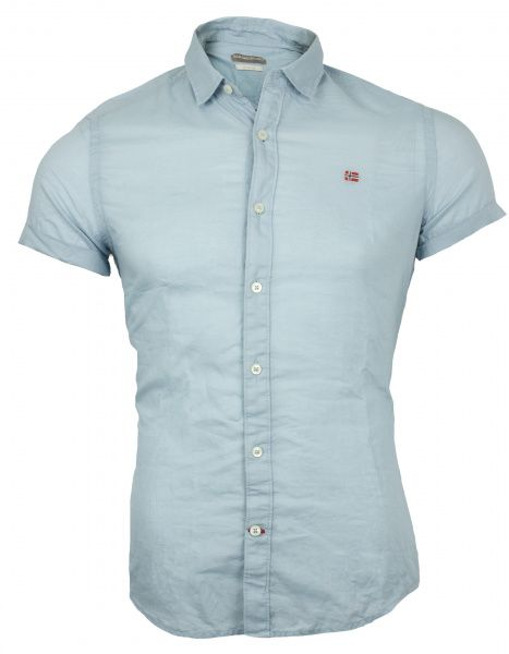 Рубашка с коротким рукавом мужские Napapijri модель ZS1410 цена, 2017