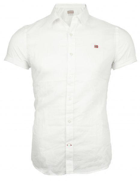Рубашка с коротким рукавом мужские Napapijri модель ZS1412 цена, 2017