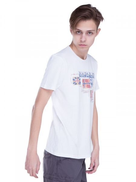 Футболка для мужчин Napapijri ZS1424 брендовая одежда, 2017