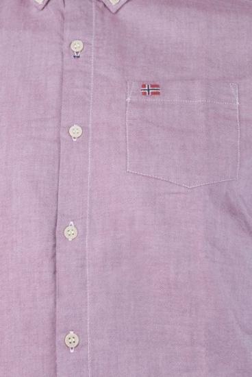 Рубашка с длинным рукавом мужские Napapijri модель N0YGRXR82 цена, 2017