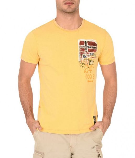 Футболка для мужчин Napapijri ZS1654 брендовая одежда, 2017