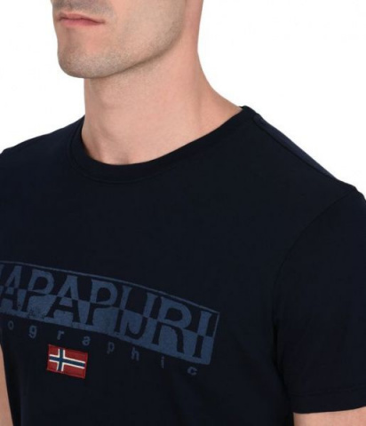 Футболка мужские Napapijri модель N0YHCY176 цена, 2017