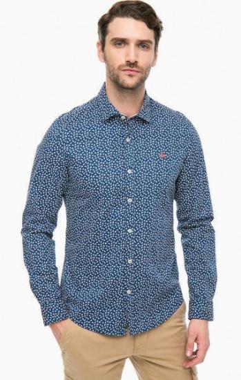 Рубашка с длинным рукавом мужские Napapijri модель N0YHE8F24 цена, 2017