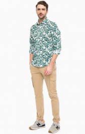 Рубашка мужские Napapijri модель N0YHE8F42 приобрести, 2017