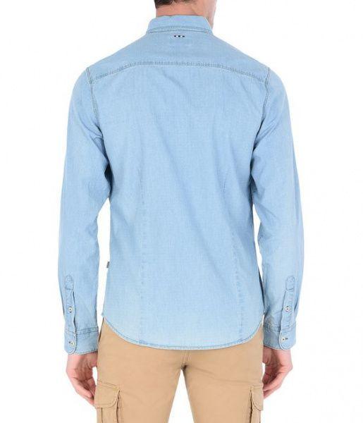 Рубашка с длинным рукавом мужские Napapijri модель N0YHEAM16 цена, 2017