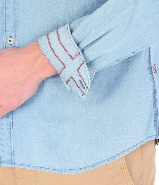 Рубашка с длинным рукавом мужские Napapijri модель N0YHEAM16 характеристики, 2017