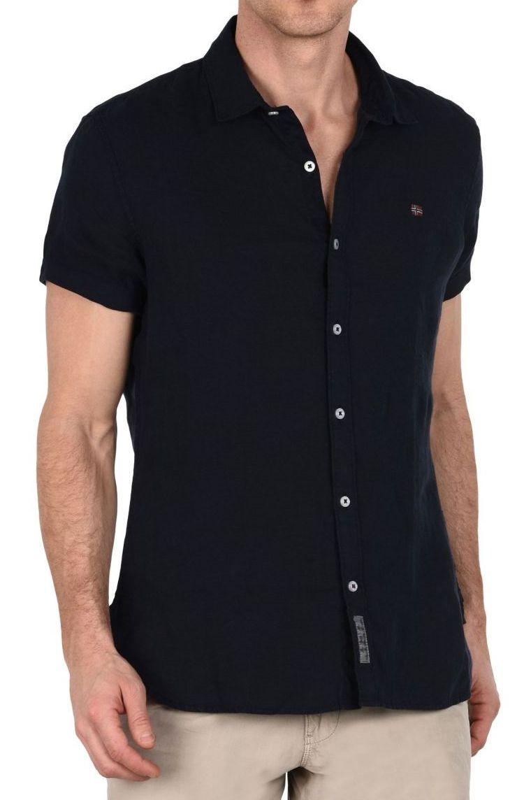 Рубашка мужские Napapijri модель N0YHEJ176 отзывы, 2017