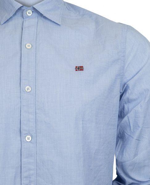 Рубашка с длинным рукавом мужские Napapijri модель ZS1809 купить, 2017
