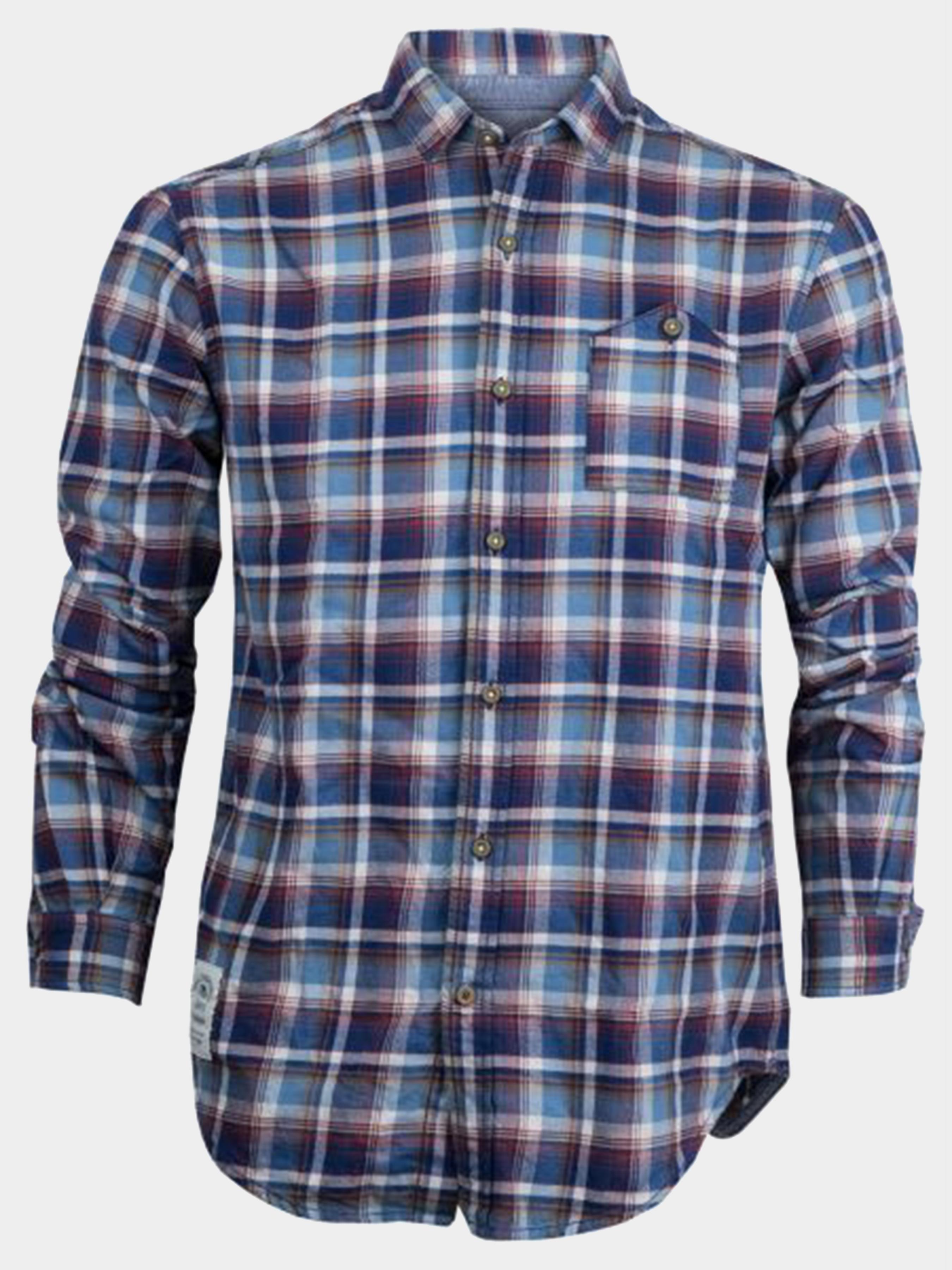 Рубашка с длинным рукавом мужские Napapijri модель ZS1938 , 2017