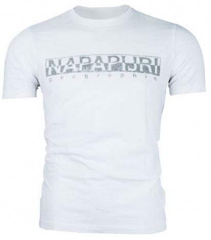 Футболка Napapijri модель N0YISSM89 — фото 4 - INTERTOP