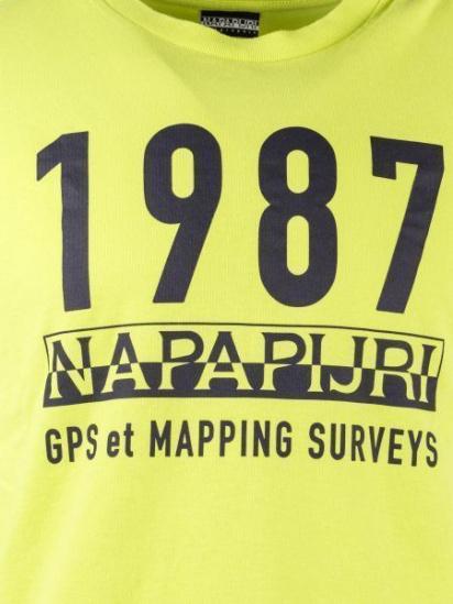 Футболка Napapijri модель N0YIEJM96 — фото 6 - INTERTOP