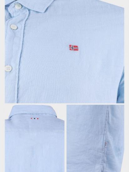 Рубашка с коротким рукавом мужские Napapijri модель ZS2097 приобрести, 2017
